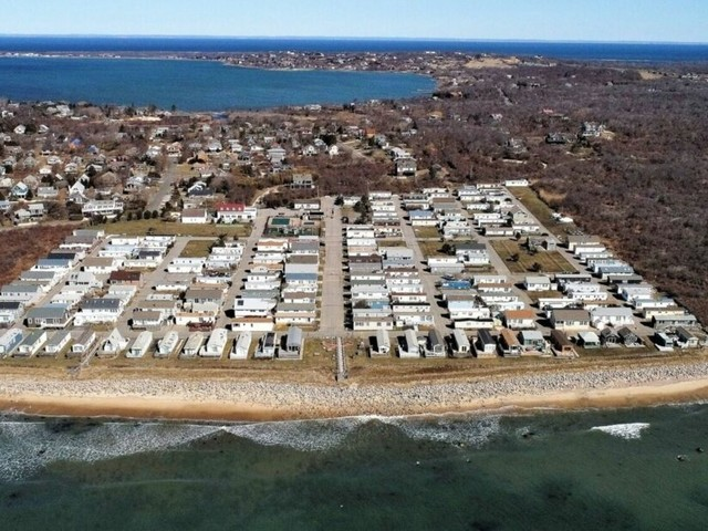 Check out this 'secret' high-end trailer park in the Hamptons