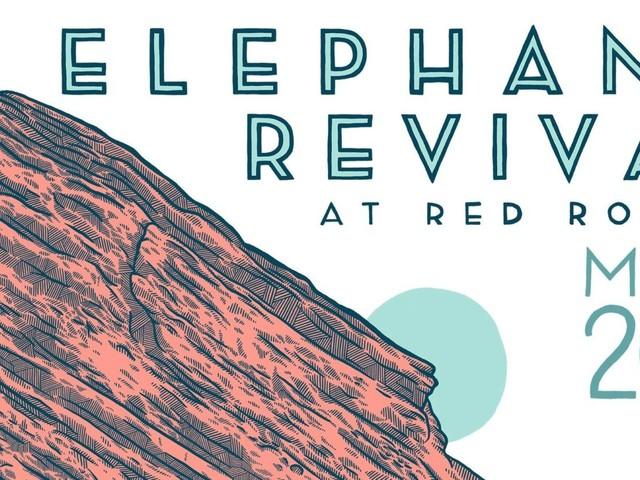 Elephant Revival Announces Return To Red Rocks
