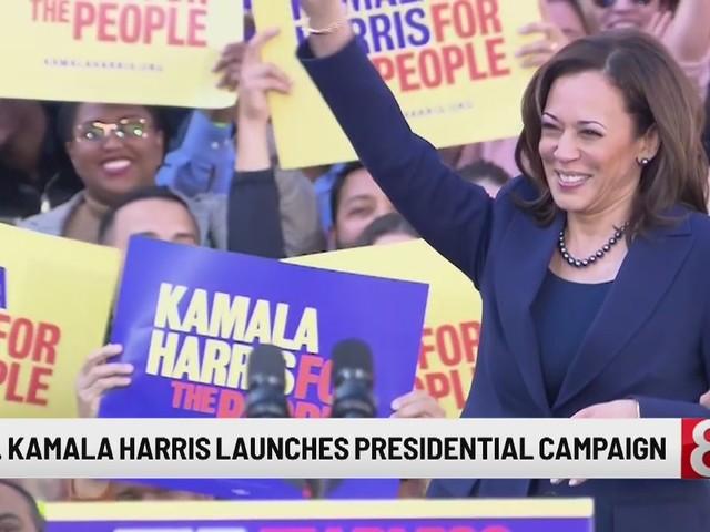 Kamala Harris kicks off 2020 campaign, warns of divisions