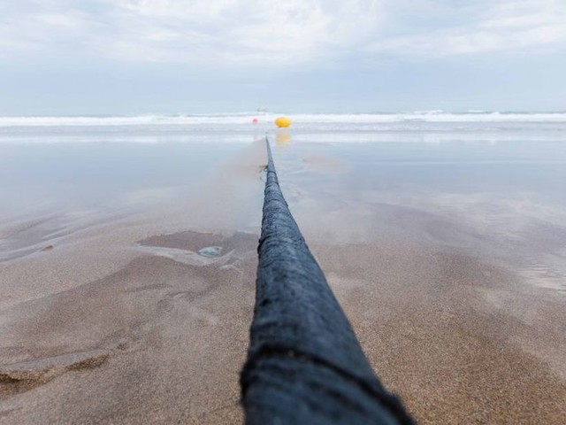 Facebook and Microsoft's big undersea cable is finally finished