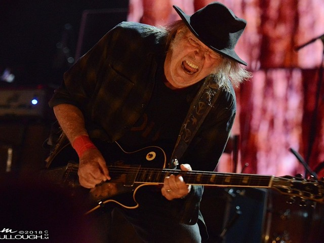 Watch Neil Young & Promise Of The Real Perform 'Cortez The Killer' & 'Cinnamon Girl' In Eugene