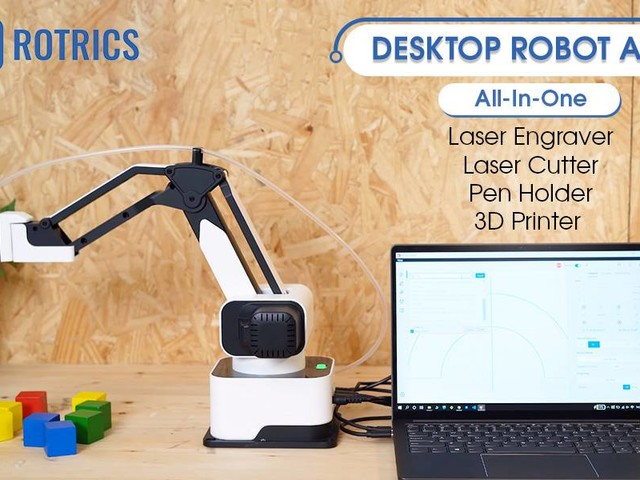 Amazon sells a robot arm that can write, draw, and shoot lasers – how crazy is this?
