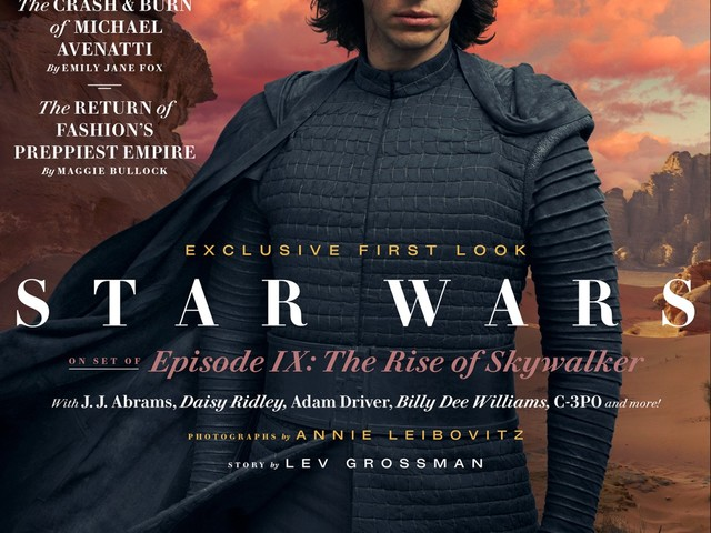 Vanity Fair debuts new photos, covers for 'Star Wars: The Rise of Skywalker'