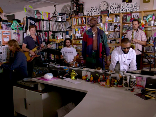 Marco Benenvento Performs With Freddie Gibbs & Madlib For 'Tiny Desk Concert'