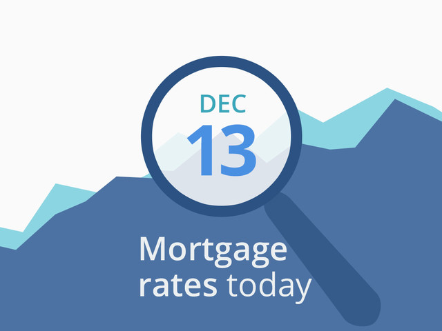 Mortgage rates today, December 13, 2019, plus lock recommendations