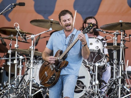 Watch scenes from Kings of Leon Cleveland concert tonight