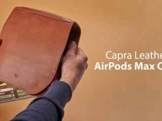 Review: Capra Leather's AirPods Max Case is a Premium Alternative to the Apple Smart Case
