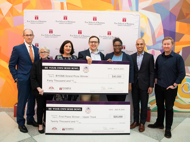Digital Collaboration Tool Wins the Day at Temple University's Be Your Own Boss Bowl®