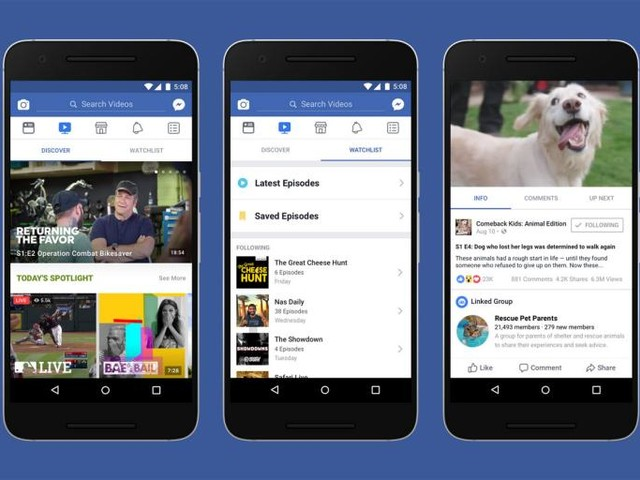 Facebook's New TV Feature Isn't a Threat to YouTube