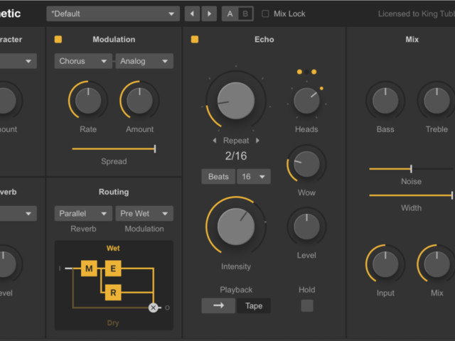 Dub Machines gives you powerful delays as plug-ins; get Diffuse free