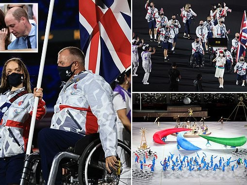 Let the Paralympics begin! Opening ceremony for 2020 Games takes place in Tokyo