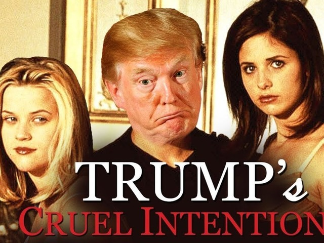 Trump News Conference Spliced With 'Cruel Intentions' Absolutely Fits