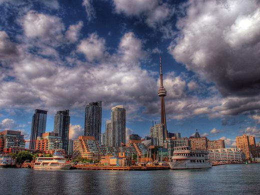 The Shorthaul – American: Dallas – Toronto, Canada. $161. Roundtrip, including all Taxes