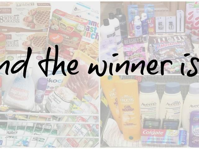 November Reader Shopping Trip Winner – Was It You?