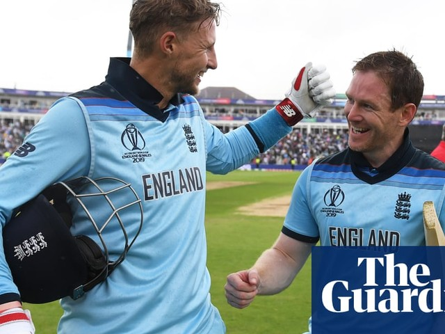England World Cup final place laughable four years ago, says Eoin Morgan
