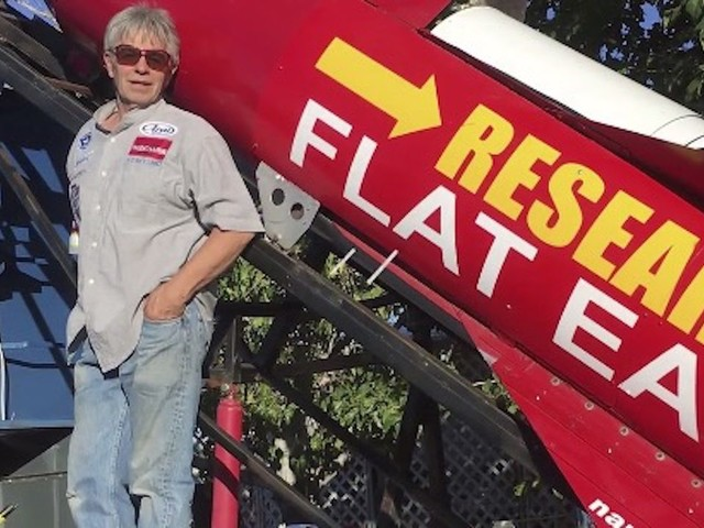 California man wants to launch himself in homemade rocket in effort to prove the Earth is flat