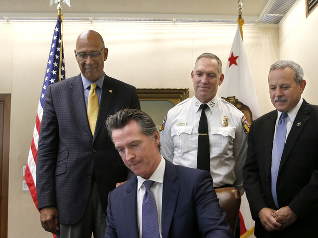 California governor signs wildfire bill to pay victims