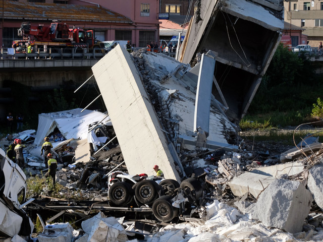 Anger, Questions After Deadly Bridge Collapse In Genoa, Italy