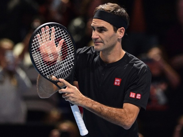 """Federer """"Excited"""" To Play Djokovic After Keeping ATP Finals Hopes Alive"""