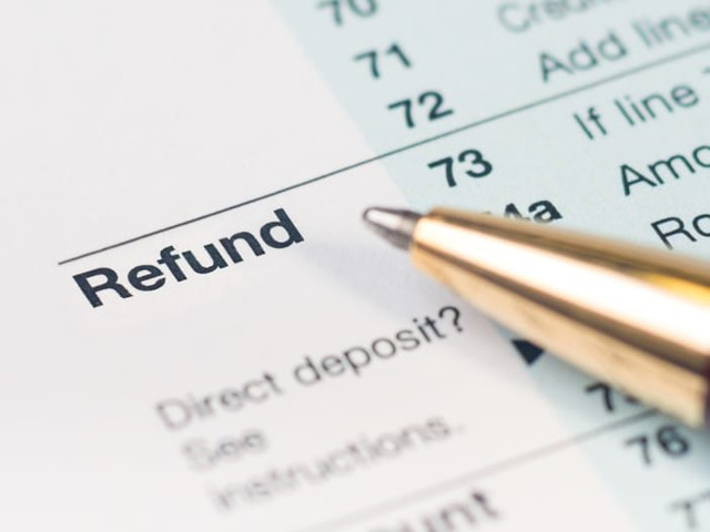The Average Tax Refund Is Down 8.4%, But That May Change