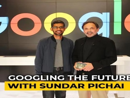 Google Co-Founders Step Aside For Sundar Pichai - Watch His Interview (Aired: October 2017)