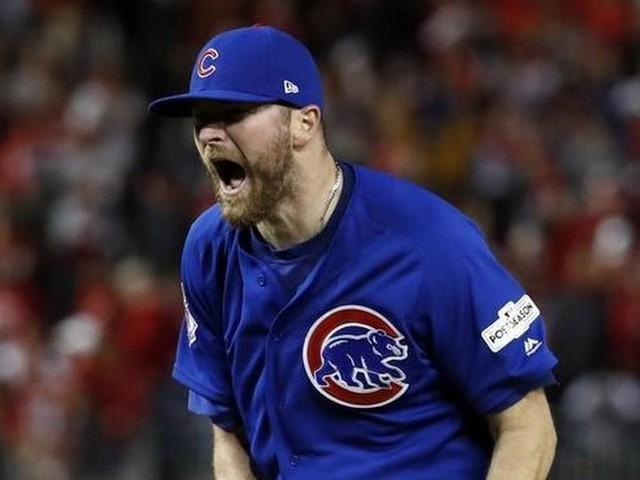 Cubs sing Wade Davis' praises after NLDS win: 'He's our MVP this year'
