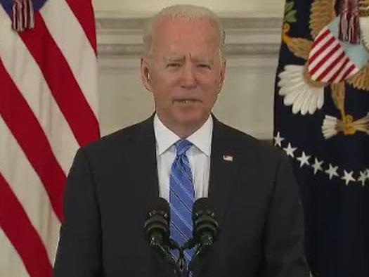 """As Fed And Treasury Spend $1.2BN Every Hour Biden Says Inflation Is """"Temporary"""", Respects Fed """"Independence"""""""
