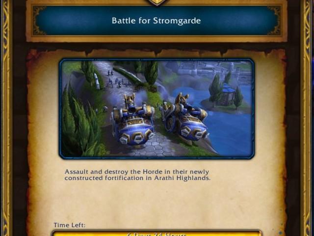 Battle for Stromgarde Warfront Now Live on EU Servers for Alliance