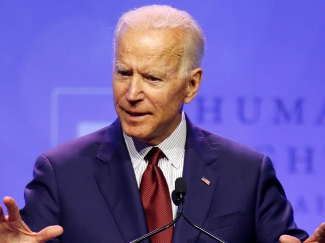 Joe Biden says he would institute a national buyback program and reinstate the assault weapons ban to 'get them off the street'