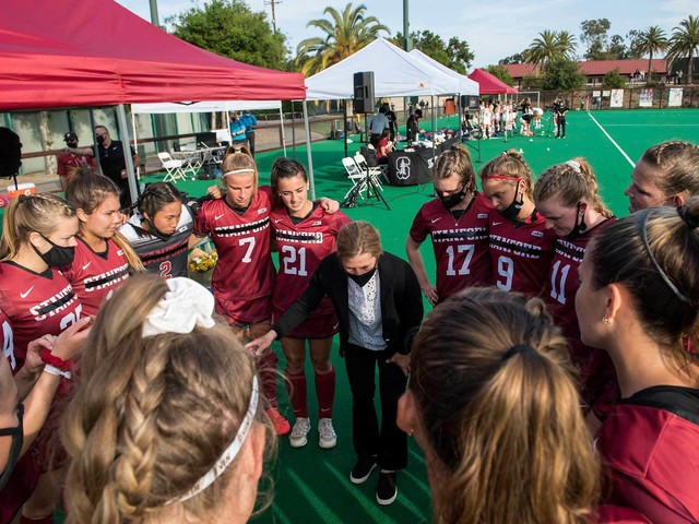 'Playing for ourselves': After breakthrough season (and 118 years) Stanford field hockey is history