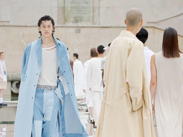 Men's fashion week Paris returns at half capacity