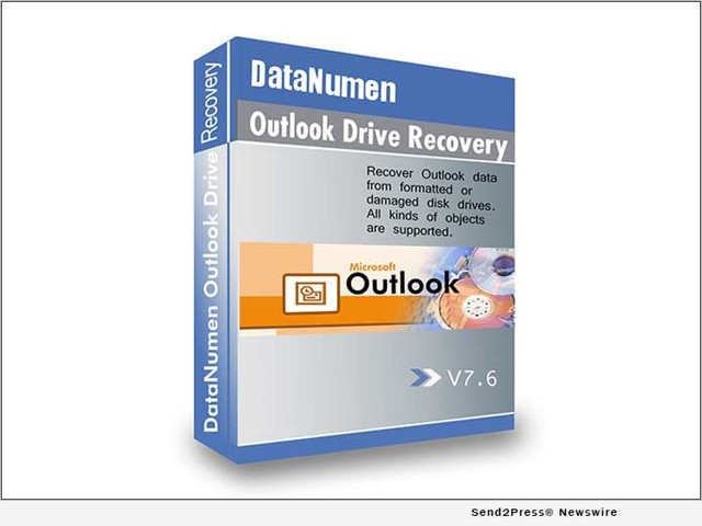DataNumen Outlook Drive Recovery 7.6: Restore Outlook Data after Permanent Deletion or Drive Formatting