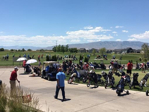 Girl, 6, dies after golf ball strikes back of her head from father's tee shot at Utah course
