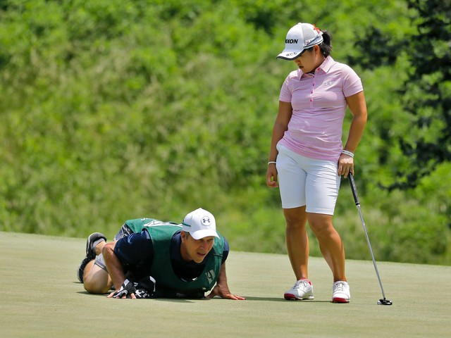 Law, Song, Concolino share LPGA Tour lead at Kingsmill