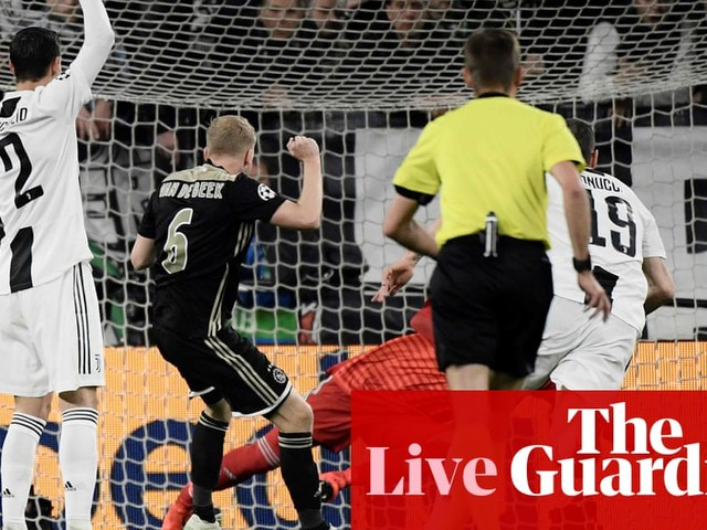 Juventus v Ajax: Champions League quarter-final – live!