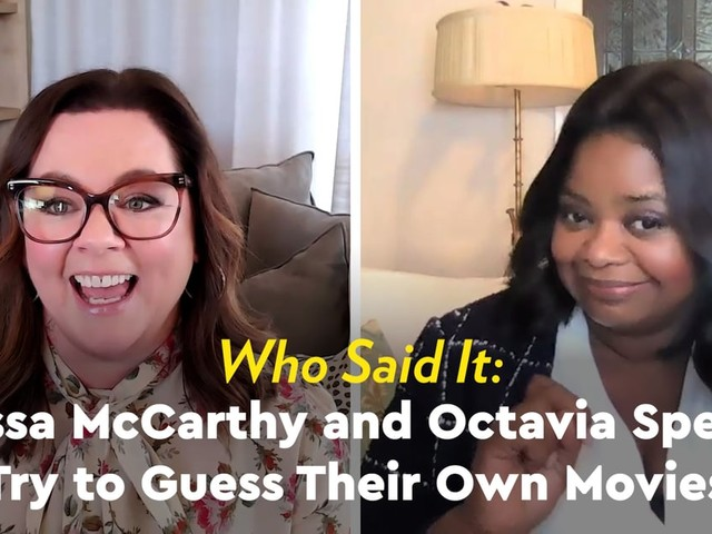 Watch Octavia Spencer Hilariously Re-Create Melissa McCarthy's Most Iconic Bridesmaids Line