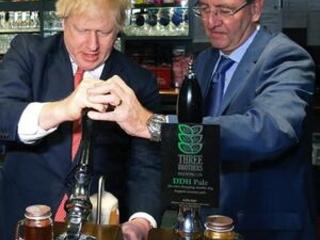 Boris Johnson goes north to celebrate crushing election win