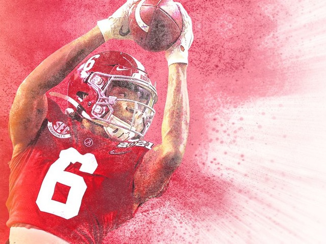 DeVonta Smith Is a National Championship Hero and the Greatest College Receiver Ever