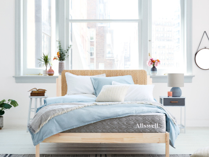 She Tried It! Home Edition: The Allswell Luxe Hybrid Mattress