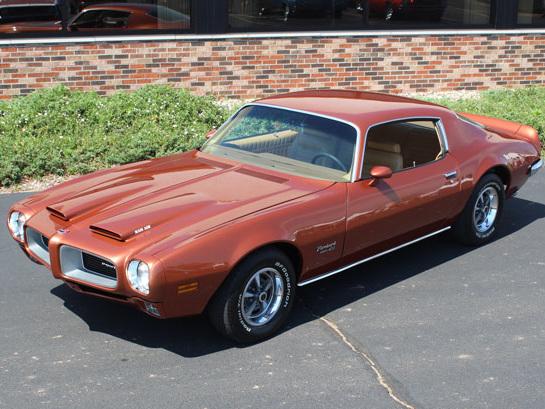 Car of the Week: 1970 1/2 Pontiac Formula Firebird