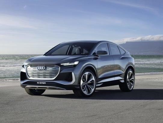 Audi Debuts Q4 Sportback E-Tron Concept