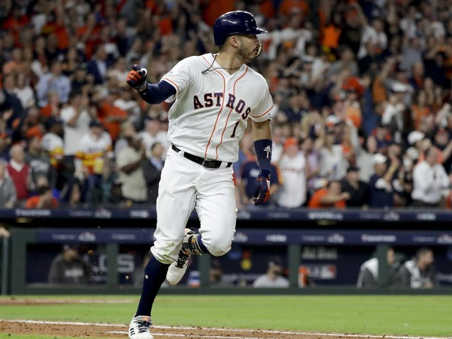 Astros move Correa into cleanup spot for ALCS Game 5