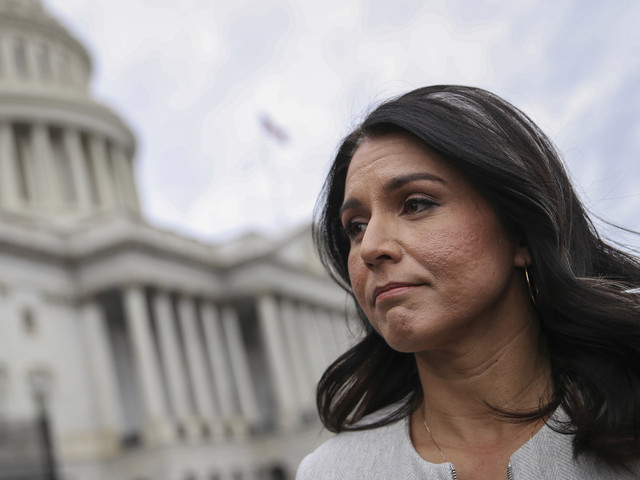 Tulsi Gabbard says she's holding Hillary Clinton 'accountable' with lawsuit