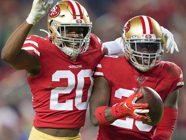 The 49ers' safeties were a dynamic duo back in high school too