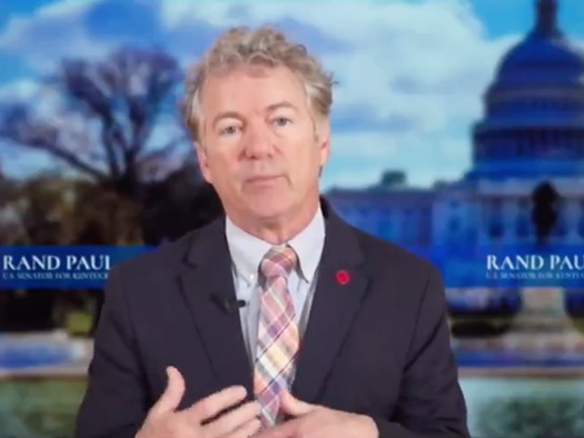 """Watch: Rand Paul Slams Fauci For Not Answering Questions; It Was """"Ad Hominem Attack With Him Simply Calling Names"""""""