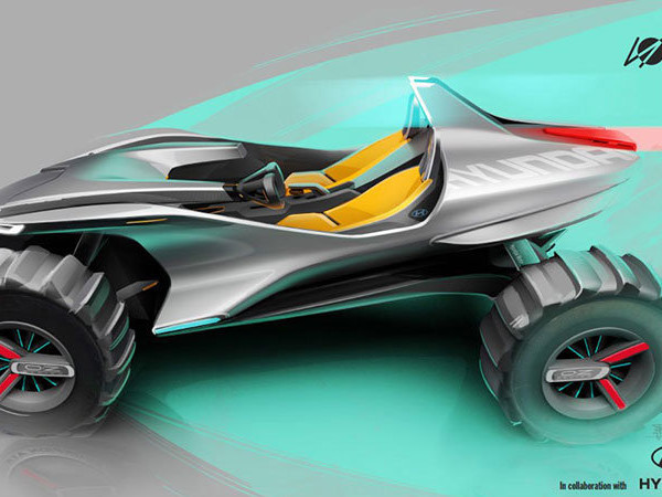 Hyundai and Turin IED collaborate on Kite buggy concept for Geneva