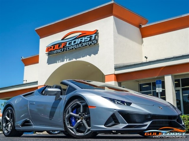 2020 Lamborghini Huracan--Evo EVO Spyder