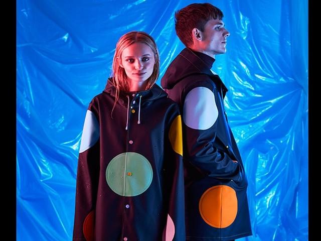 Happy Socks and Stutterheim create Dream Raincoat