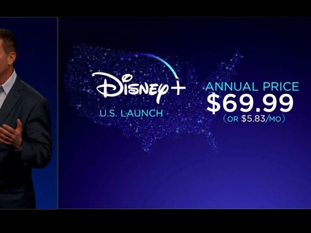 Disney+ will cost $6.99 per month, launches November 12th