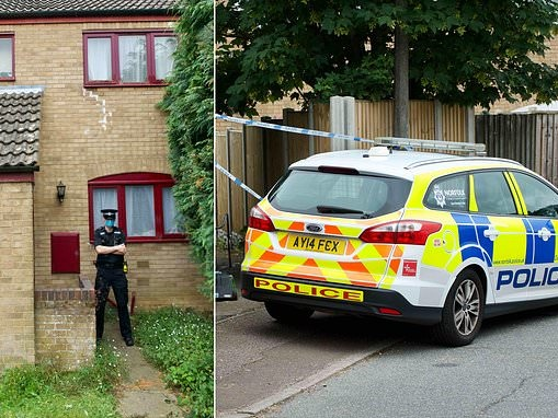 Police probe mystery deaths of man and woman at a house in Norwich belonging to 'reclusive' family